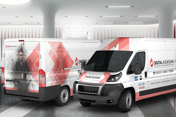 Van Branding and Wrap